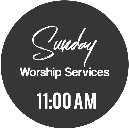 Whittier Sunday worship service