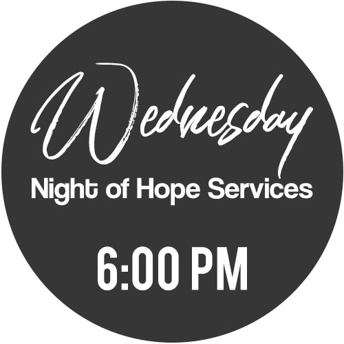 Wednesday Night of Hope Services